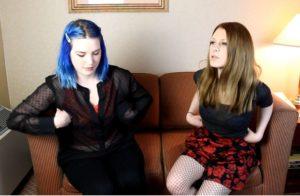 Two Girls Hypnotized