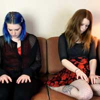 Two Girls First Hypnosis Session